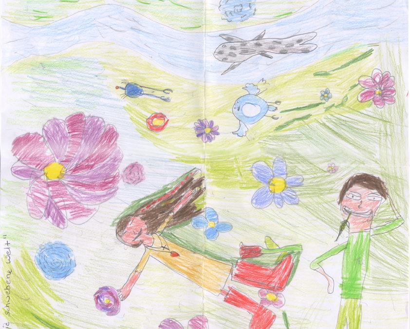Kinderbild Lilien